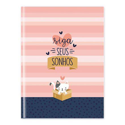 Caderno Flexível Siga Seus Sonhos - Pautado