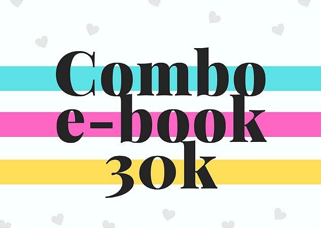 Combo e-book até 30 mil palavras