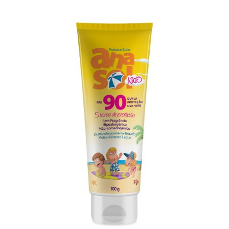 Anasol Protetor Solar Kids Fps 90 - 100g