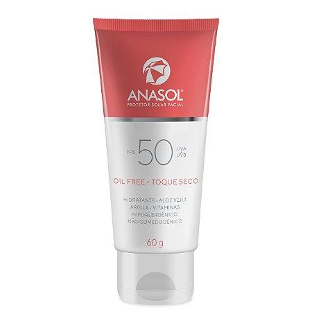 Anasol Protetor Solar Facial FPS 50 60g