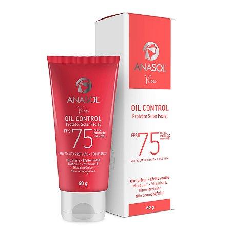 Anasol Protetor Solar Facial Oil Control Fps 75 60g