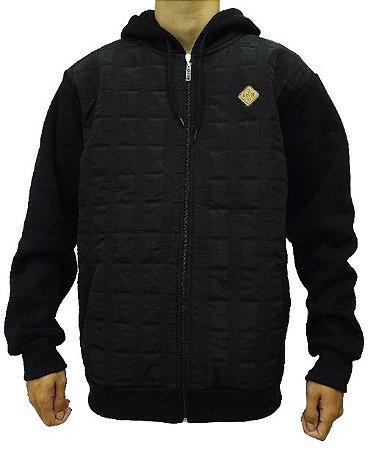Jaqueta de Moletom Bordado