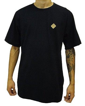 Camiseta Etiqueta Couro
