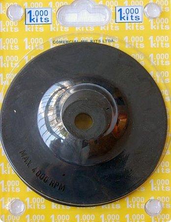 """Disco Borracha 5"""" p/ Furadeira (M3)"""