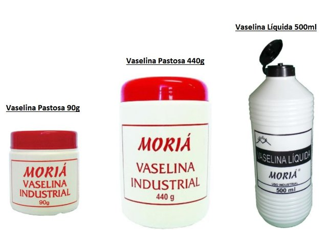 Vaselina Industrial Pastosa 90g OU 440g OU Líquida 500ml (Vendidas Separadamente)