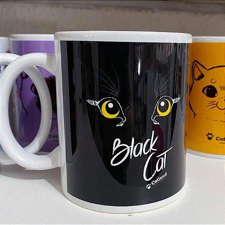 Caneca Black Cat