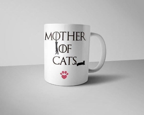 Caneca Mother of Cats
