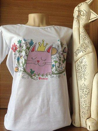 Camiseta Baby Look Rainha