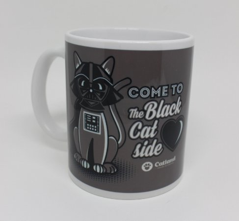 Caneca The Black Cat Side