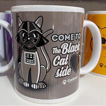 Caneca The Black Cat Side