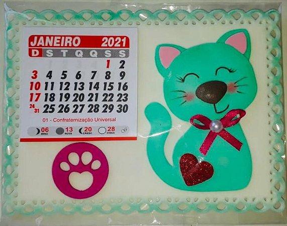 Calendário Catland 2021