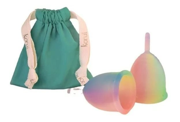Coletor Menstrual Bela Gil - Arco-Iris