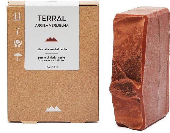 SABONETE ARGILA VERMELHA
