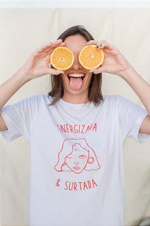 Camiseta Energizada & Surtada