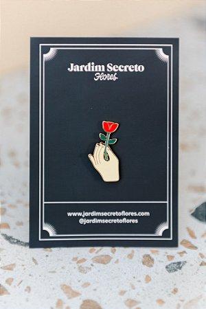 Pin Flor Vermelha