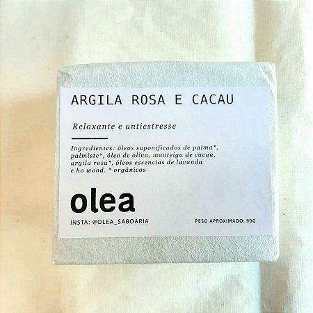 Barra Argila Rosa e Cacau