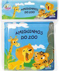 AMIGUINHOS - UM LIVRO DE BANHO: AMIGUINHOS DO ZOO - BELLI, ROBERTO