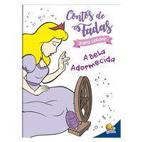 CONTOS DE FADA PARA COLORIR: A BELA ADORMECIDA - MARQUES, CRISTINA
