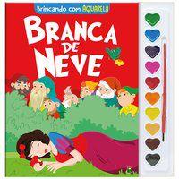 BRINCANDO COM AQUARELA: BRANCA DE NEVE - MARQUES, CRISTINA