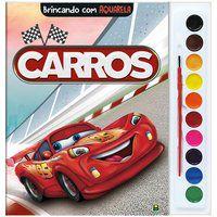 BRINCANDO COM AQUARELA: CARROS - TODOLIVRO LTDA.