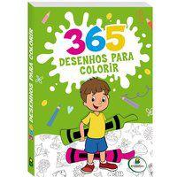 365 DESENHOS PARA COLORIR (VERDE) - PEGASUS/BJAIN
