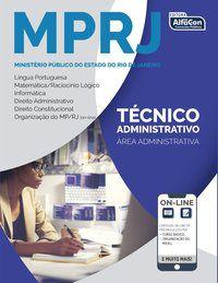 MP RJ - TÉCNICO ADMINISTRATIVO - EQUIPE ALFACON