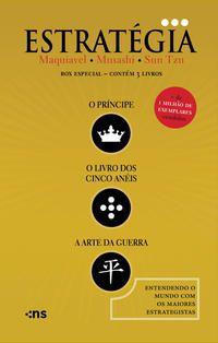 BOX O ESSENCIAL DA ESTRATÉGIA - 3 VOLUMES - TZU, SUN