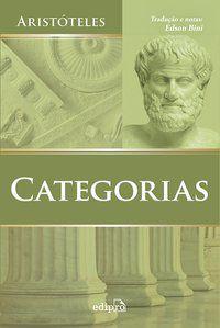 CATEGORIAS - ARISTÓTELES