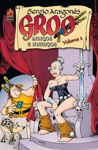 GROO - AMIGOS E INIMIGOS - VOLUME 02 - EVANIER, MARK