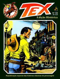 TEX EDIÇÃO HISTÓRICA Nº 108 - BONELLI, GIAN LUIGI