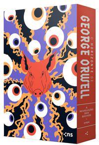 BOX O HORIZONTE DE GEORGE ORWELL (2 LIVROS + PÔSTER + SUPLEMENTO) - ORWELL, GEORGE