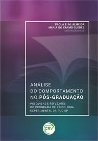 ANÁLISE DO COMPORTAMENTO NO PÓSGRADUAÇÃO - MORAES ALMEIDA, PAOLA ESPÓSITO DE