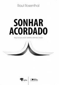 SONHAR ACORDADO - MELO, MARCELO CANDIDO DE