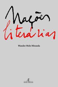 NAÇÕES LITERÁRIAS - MIRANDA, WANDER MELO