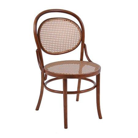 Cadeira Panamá com assento e encosto em palha
