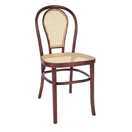 Cadeira Austríaca assento e encosto em palha
