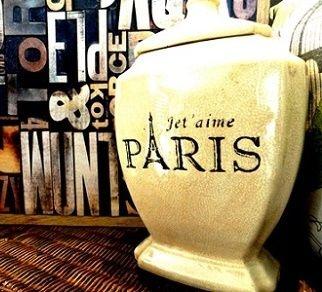 Potiche Ponteira Paris - 39x20x15
