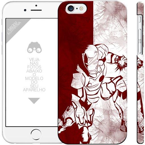 HOMEM DE FERRO - heróis 8| apple - motorola - samsung - sony - asus - lg |capa de celular