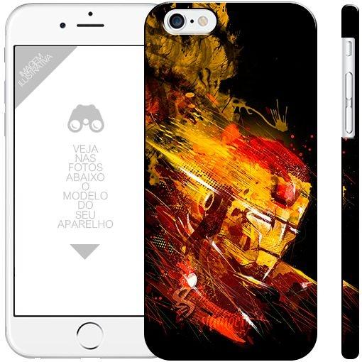 HOMEM DE FERRO - heróis 12| apple - motorola - samsung - sony - asus - lg |capa de celular