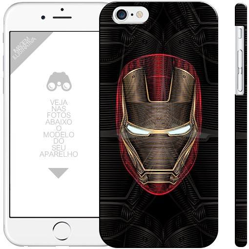 HOMEM DE FERRO - heróis 13| apple - motorola - samsung - sony - asus - lg |capa de celular