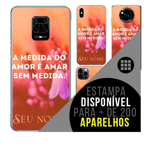 Capa de celular personalizada com nome - Frases de amor amigo