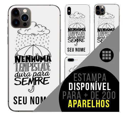 Capa de celular personalizada com nome - todos aparelhos - Frase motivacional 2
