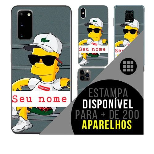 Capa de celular personalizada com nome - todos aparelhos - Funk Ostentação