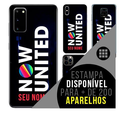 Capa de celular personalizada com nome - todos aparelhos - Now United K-POP