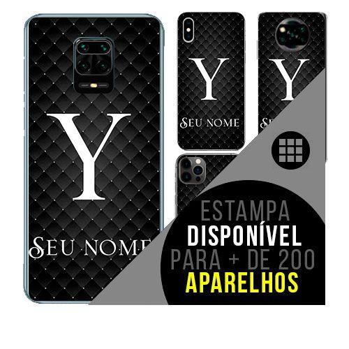 Capa de celular personalizada com nome - Letra Y -  todos aparelhos