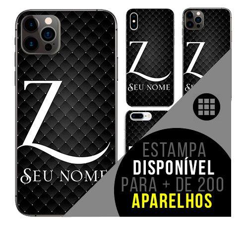 Capa de celular personalizada com nome - Letra Z -  todos aparelhos