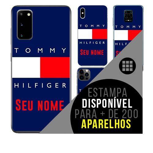 Capa de celular personalizada com nome - tommy hilfiger