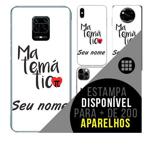 Capa de celular personalizada com nome - todos aparelhos - Matemática