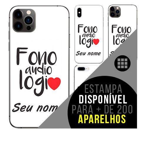 Capa de celular personalizada com nome - todos aparelhos - Fonoaudiologia