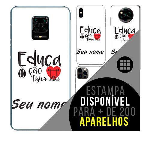 Capa de celular personalizada com nome - todos aparelhos - Educação Física